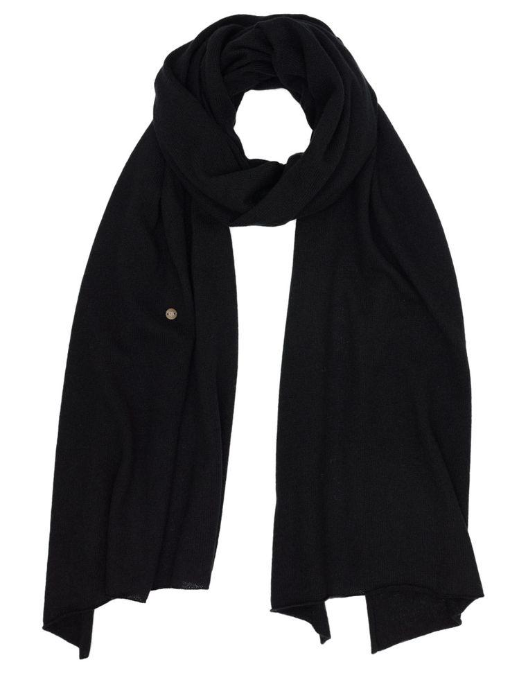 Scarf Plain - Black