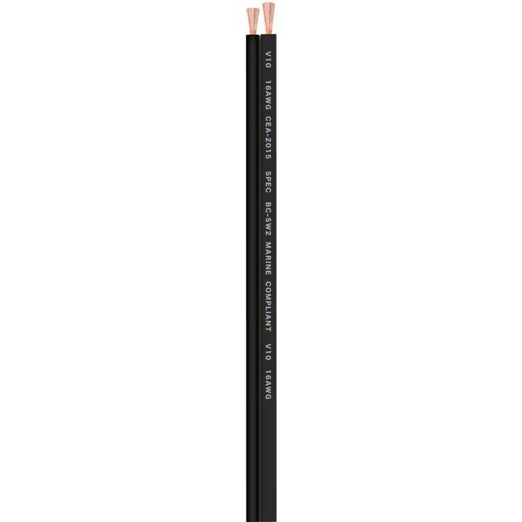 T-SPEC V10SW16250-BK v10 SERIES Speaker Wire (250ft, 16 Gauge)