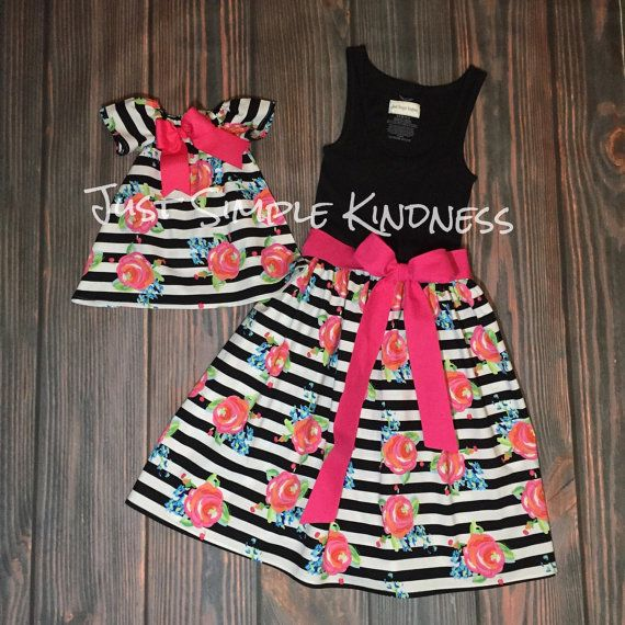 Mommy & Me Dresses Mommy and Me outfits by JustSimpleKindness