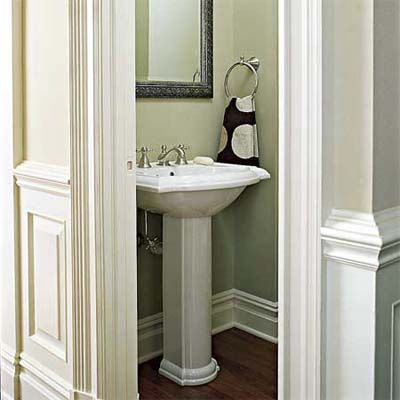15 best images about Bathrooms on Pinterest Small half bathrooms