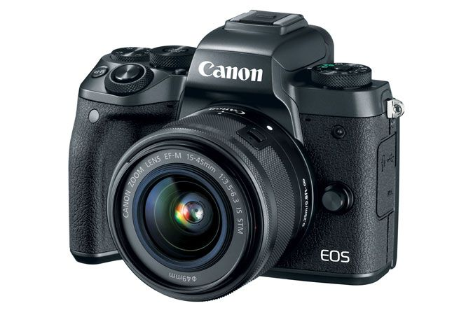 EOS M5 EF-M 15-45mm f/3.5-6.3 IS STM Lens Kit | Canon Online Store
