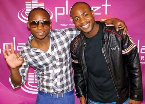 Musician Khuli Chana and PRTV CEO Wale Akinlabi