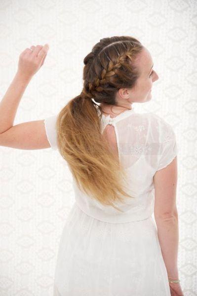 20 coiffures de mariée à queues de cheval 2017 canons! Image: 18