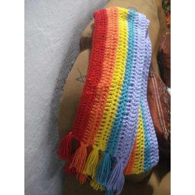 Bufandas Tejidas A Mano De Mujer Y De Hombre - $ 500,00 en Mercado Libre
