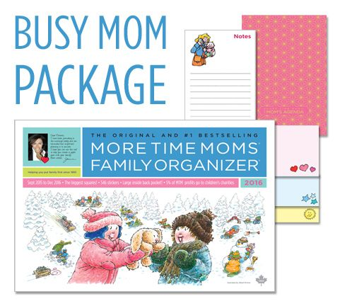 Get Organized This School Year With More Time Moms! Enter to win a Busy Moms Prize Pack
