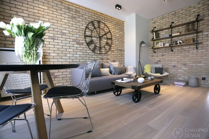 modern industrial apartment 8 Post Industrial Apartment in Warsaw Exhibiting a Clean and Elegant Design [Video]