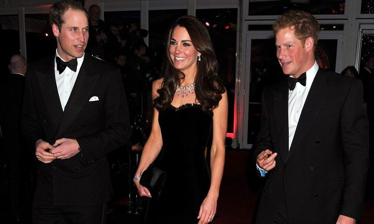 The belle of the ball: Kate shines in strapless black velvet gown at the Military Awards