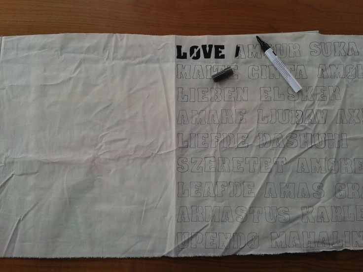 DIY: Maak je eigen kussen met tekst! « Lindi Melse