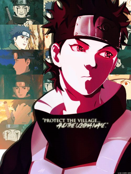 uchiha shisui, I wish they did a little bit more of his and Itachi's relationship!
