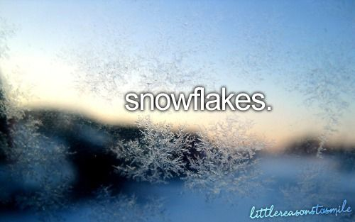 I remember the first time I had ever seen snowflakes as a little girl in AZ! Truly amazed!