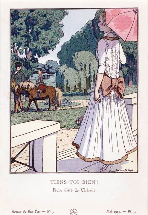 Chéruit robe d'été - mai1914 - Louise Chéruit - Wikipedia, the free encyclopedia