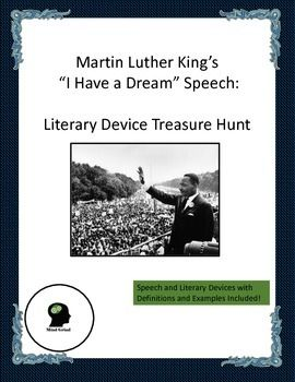 Martin luther king speech questions