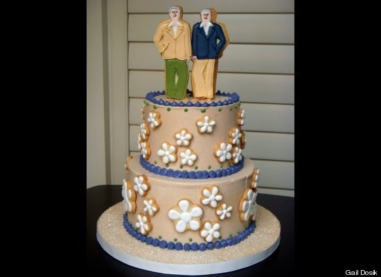 Same Sex Wedding Cake 49