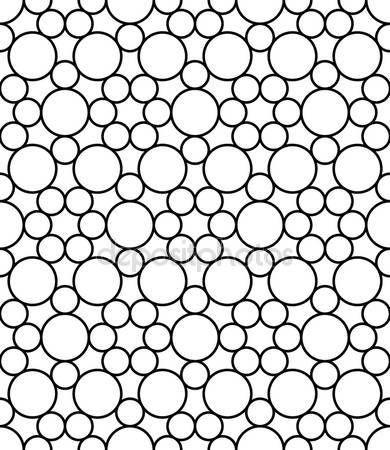 Vektör modern sorunsuz kutsal geometri desen daireler, siyah ve beyaz soyut geometrik arka plan, yastık yazıcı, tek renkli retro doku, hippi moda tasarımı — Stok Vektör