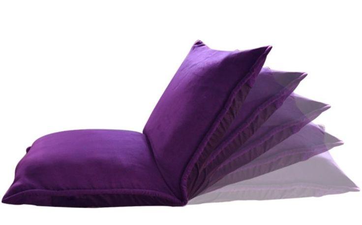 Japanese Style Legless Fabric Floor Chair Low Tatami Meditation Cushion