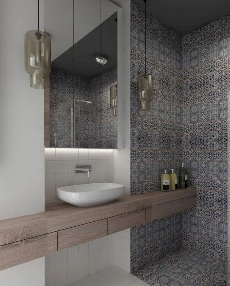 Gorgeous 85 Beautiful Bathroom Shower Tile Decor Ideas https://decorapartment.com/85-beautiful-bathroom-shower-tile-decor-ideas/
