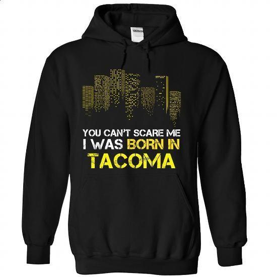 TACOMA-the-awesome - #polo sweatshirt #hoodie jacket. SIMILAR ITEMS => https://www.sunfrog.com/Holidays/TACOMA-the-awesome-Black-59280567-Hoodie.html?60505