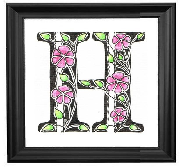 33 best Judy's Creative Doodling Letters images on ...