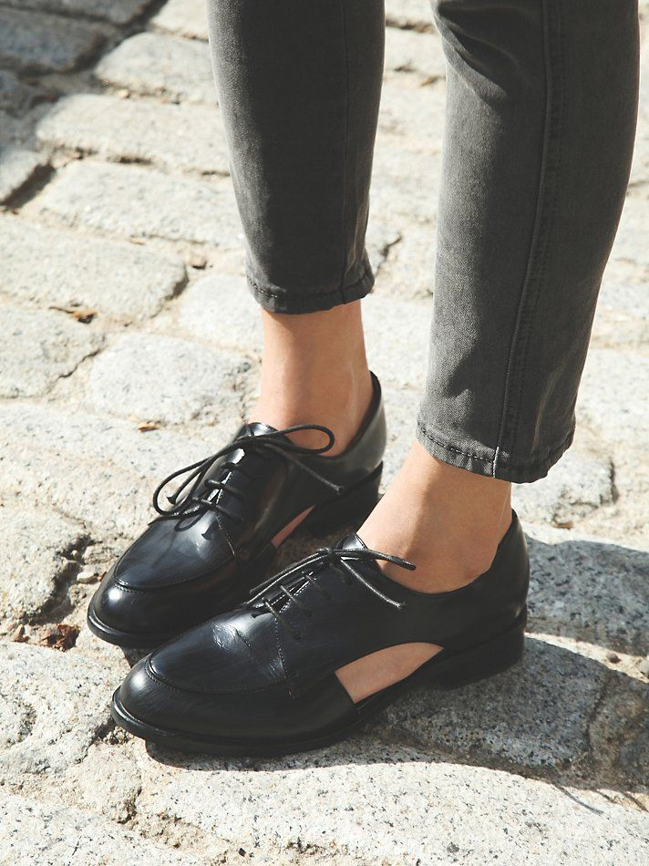 Jeffrey Campbell Desoto Cut Out Oxford at Free People Clothing Boutique