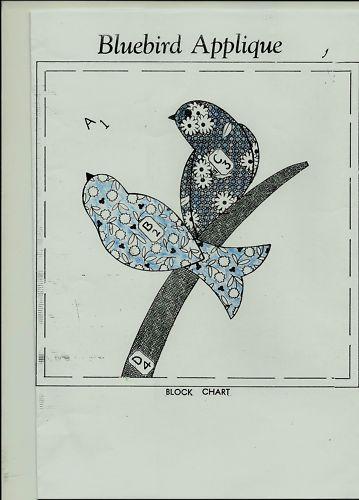 Free Bird Quilt Patterns | applique bird quilt | Tim Latimer - Quilts etc