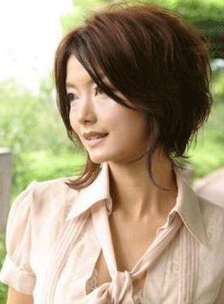 Cortes de pelo corto medio es un tipo de estilos de cabello mediano   Peinados Modernos