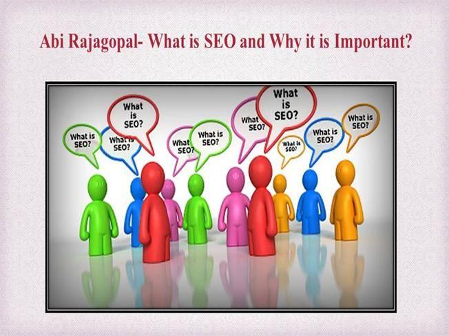 Avhinav Rajagopal- What is SEO and Why it is Important by abhinavrajagopal via…