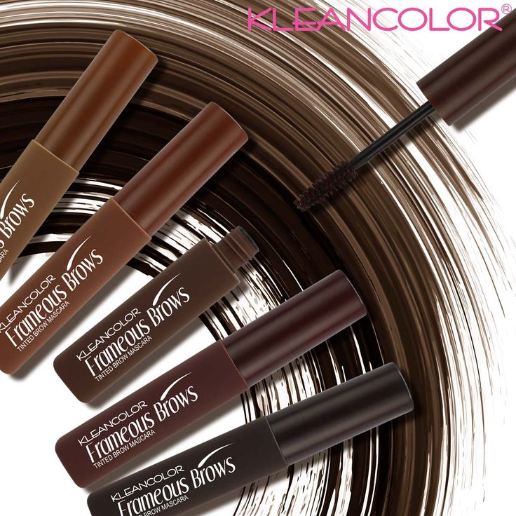 Set and frame your brows for natural-looking wear with our Frameous Brows tinted brow mascara. Find your shade on kleancolor.com.  #kleancolor #frameousbrows #tintedbrowmascara #brows #eyebrows #waterproof #makeup #cosmetics #beauty