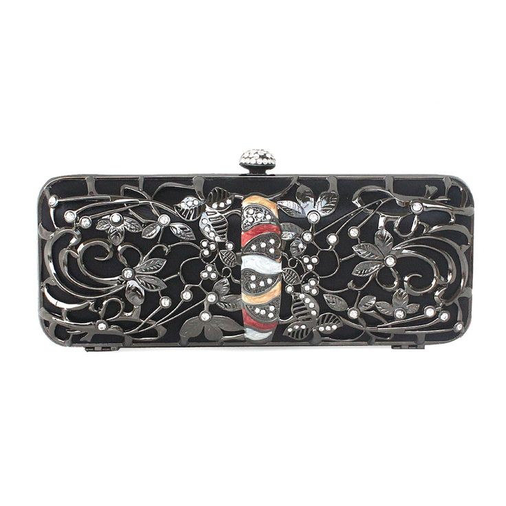 Amazing Metal Handbag With Nice Flower Pattern With Cheapest Price $79.98 Offered By Prinkko