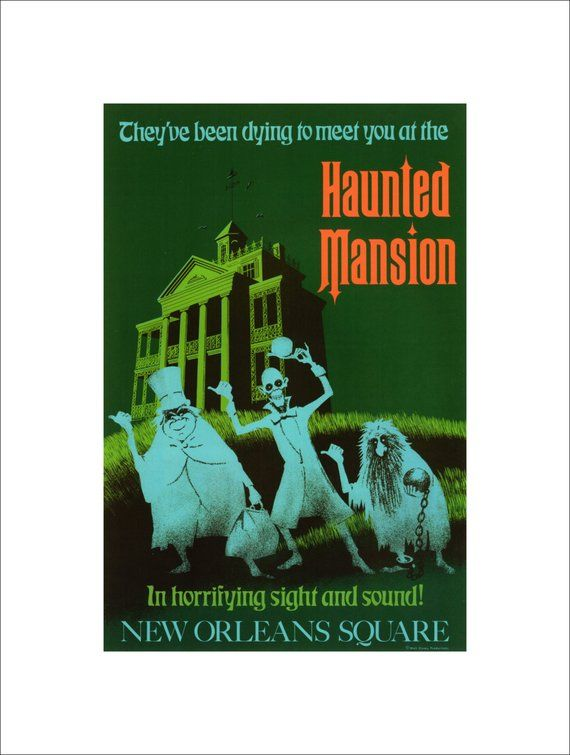 Image result for haunted mansion poster 1969