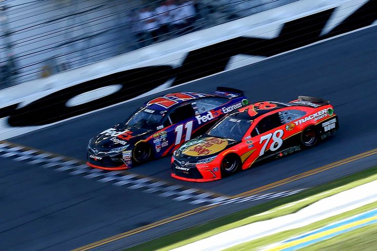 Closest Finish Ever in Daytona 500 - February 21, 2016 - Denny Hamlin earned his first Daytona 500 victory in the closest finish in the race's storied 58-year history, pushing his No. 11 FedEx Toyota ahead of Martin Truex Jr.'s Toyota at the finish line by one-hundredth of a second (0.010) -- a half-foot winning difference in NASCAR's most celebrated event.