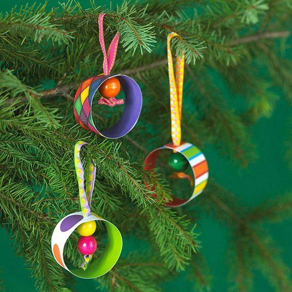 30 de artesanía y decoración hecha a mano de las ideas Fácil Navidad para los niños _29