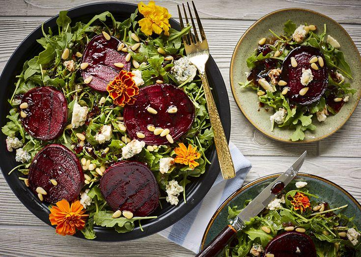 Balsamic Grilled Beet Salad