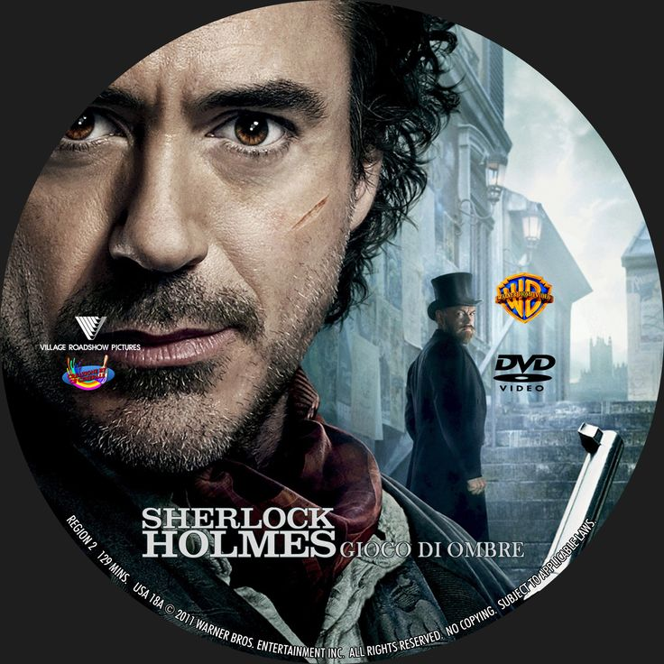 Sherlock Holmes - Gioco Di Ombre DVD Cover =>> For some NEW adventures with Sherlock Holmes visit Facebook.com/SherlockHolmesZombieSlayer.