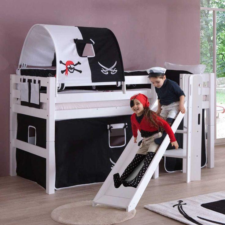 Kinderhochbett mit rutsche roller Die besten 25+ Kinderhochbett mit rutsche Ideen auf Pinterest ...