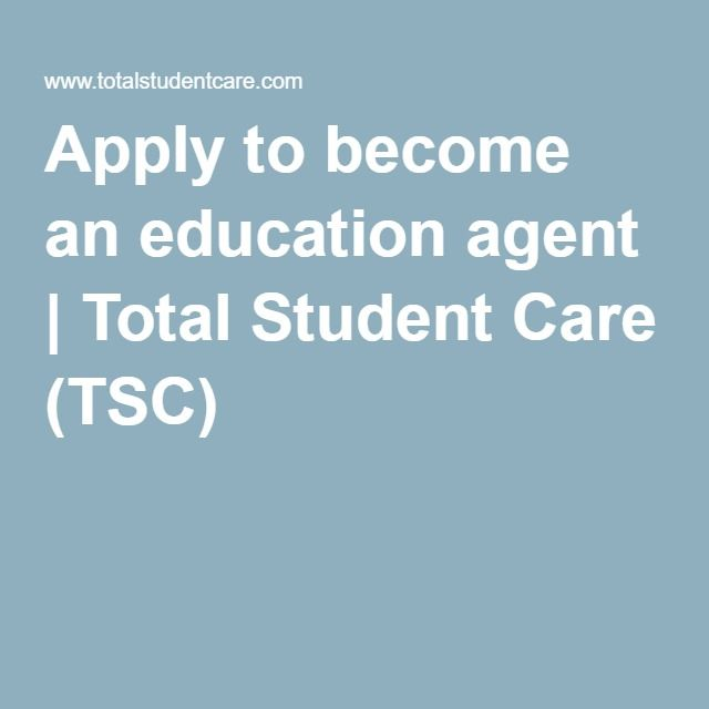 Apply to become an education agent | Total Student Care (TSC)