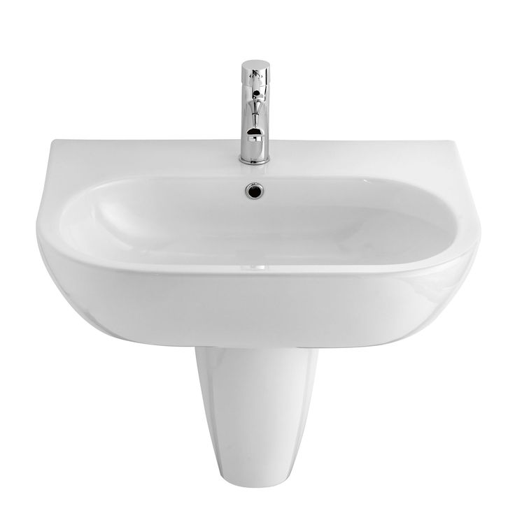 Cooke & Lewis Helena Semi Pedestal Basin | Departments | DIY at B&Q