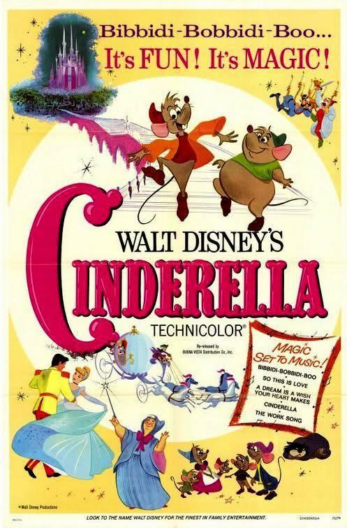 CINDERELLA // usa // Walt Disney 1950