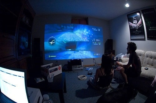 projector for the gaming room