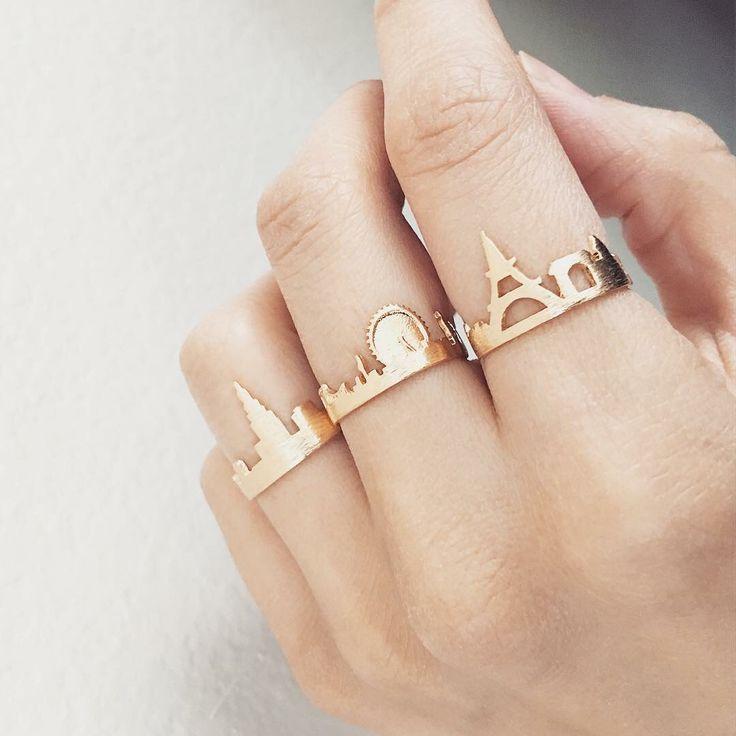 Anéis,cidades