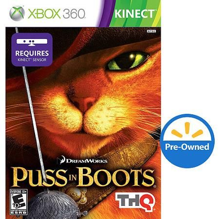 Puss In Boots Kinect (Xbox 360) - Pre-Owned