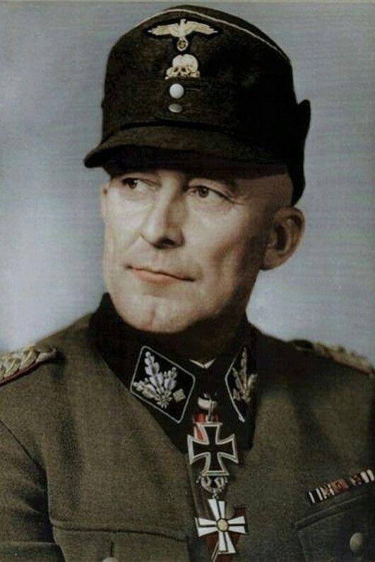 SS-Obergruppenführer und General der Waffen-SS Matthias Kleinheiserkamp (1893-1945), Kommandierender General XI. SS-Panzerkorps, Ritterkreuz 31.03.1942, Eichenlaub (871) 09.05.1945