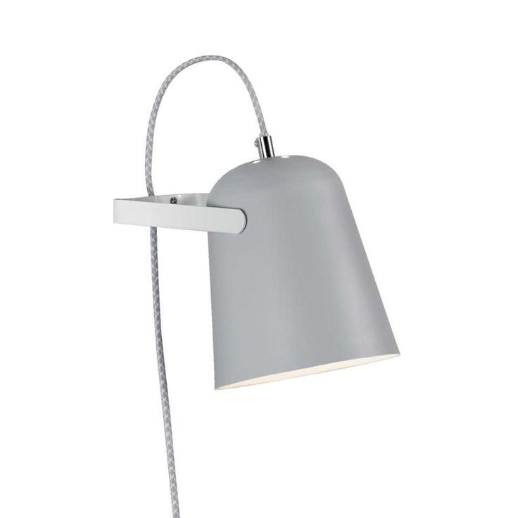 Wandlamp Pien - grijs