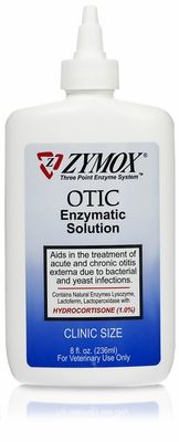 """Do you have a dog with chronic yeast infections in his/her ears? I spent hundreds of $$ at the vet on prescriptions that didn't work. I tried home remedies that I found on the web that didn't work. Then I found this. Zymox Otic with 1% hydrocortisone. After only 3 treatments it worked and she's been free of this for 3 months. I bought the large 8oz bottle because I fully expect it to come back at some point but I'll be ready. This stuff is amazing!"""