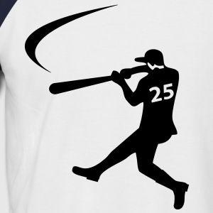 Honkbal Heren Shirt met korte mouwen