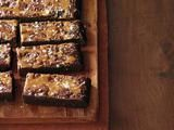 Salted Caramel Brownies | Recipe from Barefoot Contessa Foolproof: Recipes You Can Trust. Copyright (c) 2012 by Ina Garten. By Arrangement with Clarkson Potter, a division of Random House, Inc. for Food Network Magazine  Recipe categories: Chocolate, more |  Ina drizzles caramel over hot brownies and sprinkles with sea salt. | Via: foodnetwork.com