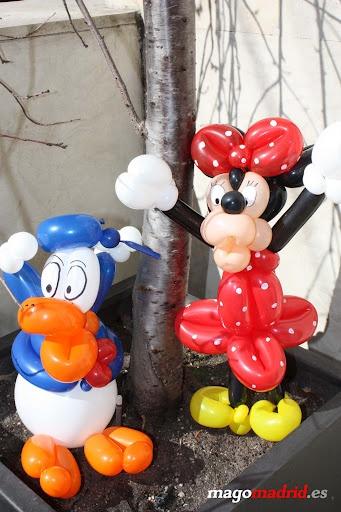 Decoracion globos cumplea os alfonso v 12 pato donald for Decoracion con globos