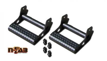 FJ Cruiser Parts Accessories: Toyota FJ Cruiser Detachable Rockrail Steps by N-Fab