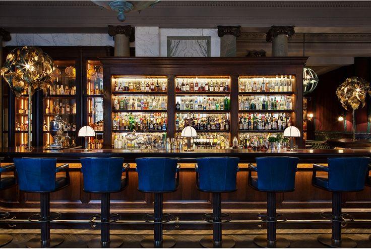 Rosewood Bar by Martin Brudnizki Design Studio