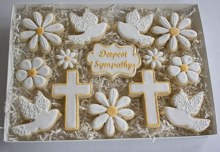 7 best funeral and memorial cakes and cookies inspiration