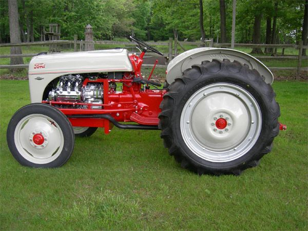 Restored Antique Tractors : Restored ford tractor tractors pinterest